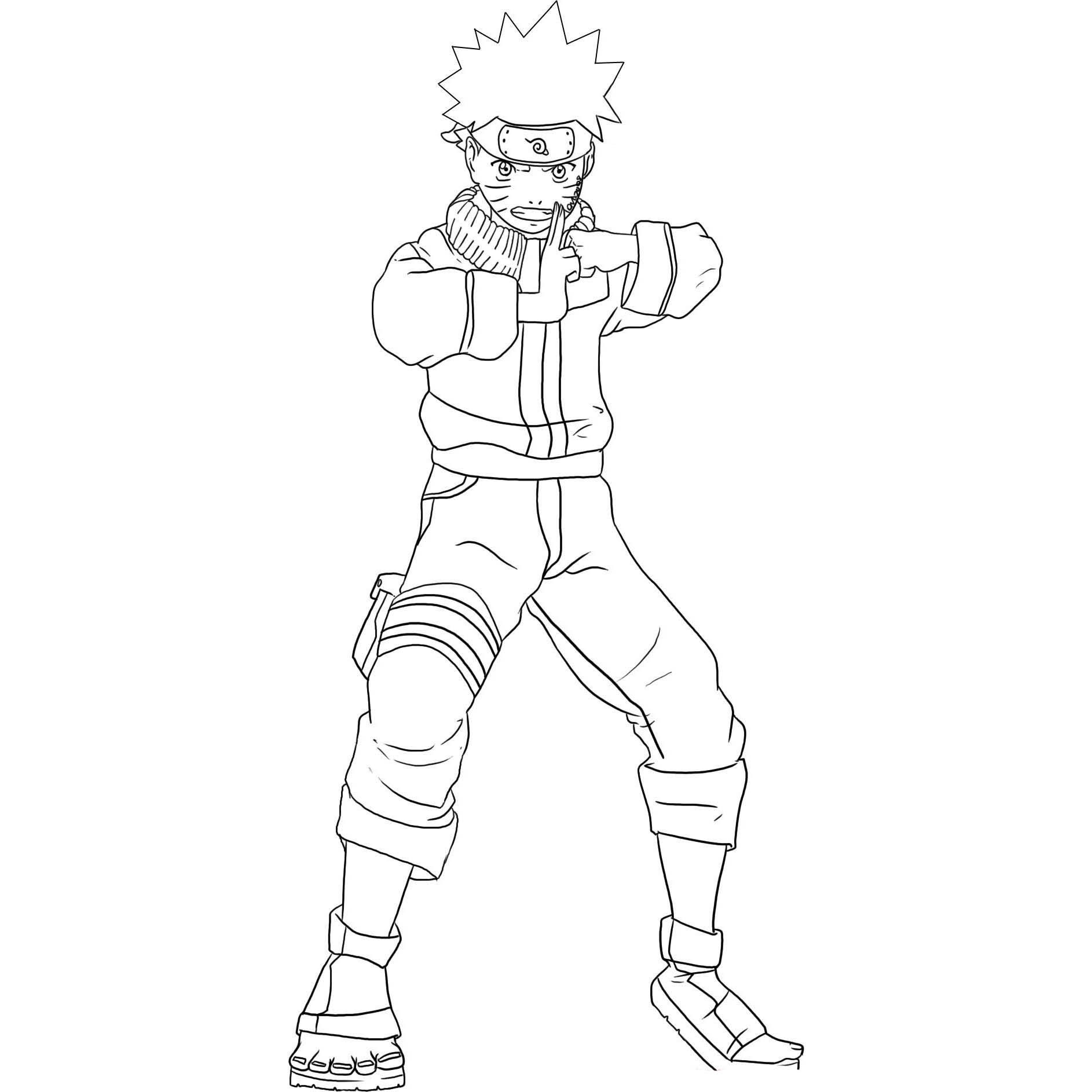 Pics s Desenho Naruto Sennin
