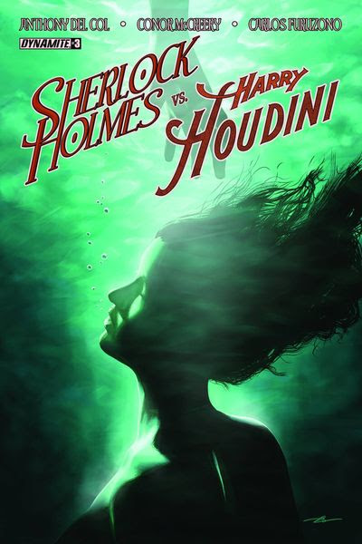 Holmes vs. Houdini #3 (of 5) (Cover A - Campbell)