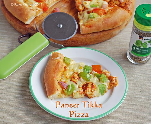 Paneer-tikka-pizza-recipe