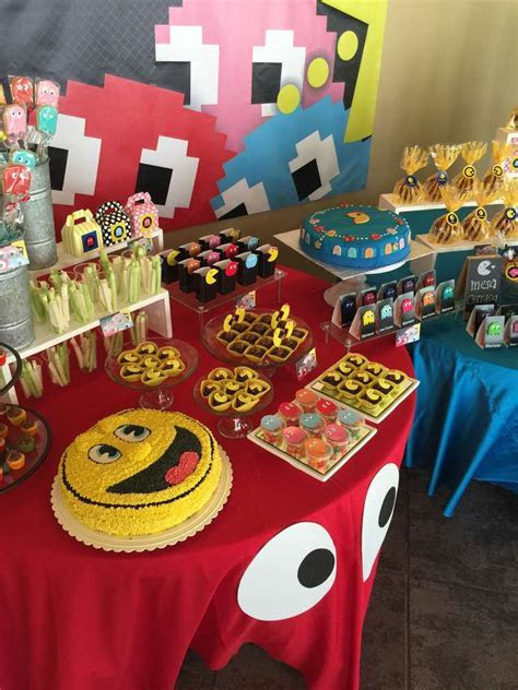 PacMan Party Birthday Party Ideas   Photo 2 of 17   Catch