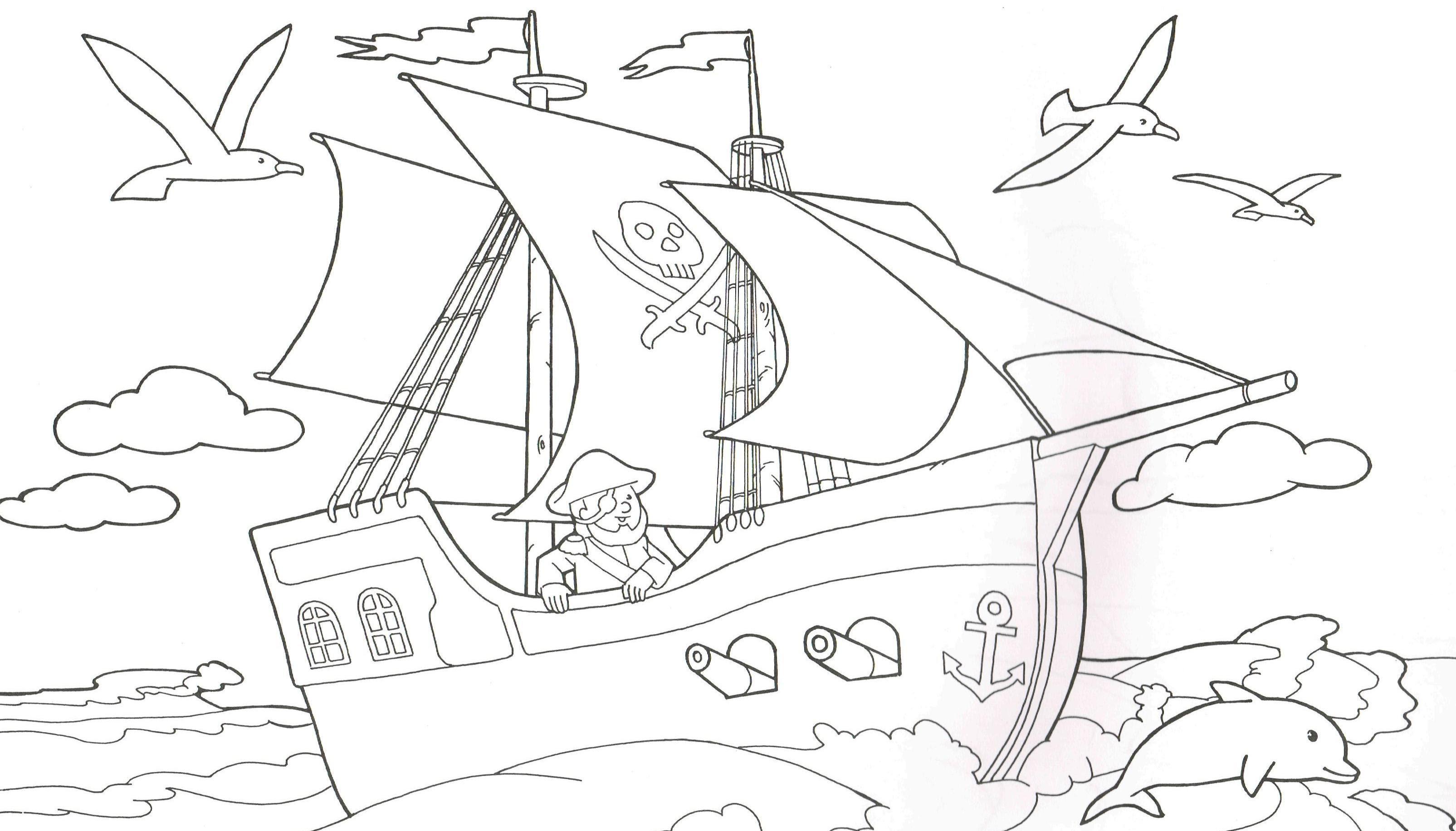 Luxus Malvorlagen Piratenschiff Zum Ausdrucken