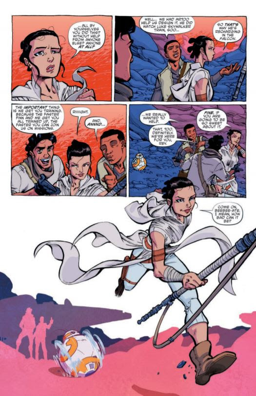 Star Wars Adventures #1 Relaunch: Preview & Spoiler Free Review | Anakin and His Angel