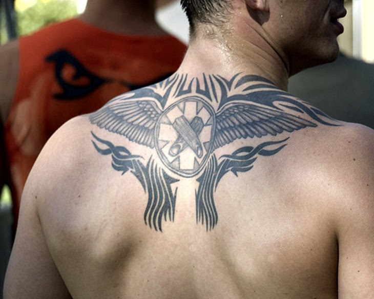 Cool Upper Back Tattoos For Guys Tattoos Designs Ideas