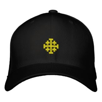 Kingdom of Jerusalem Embroidered Hat