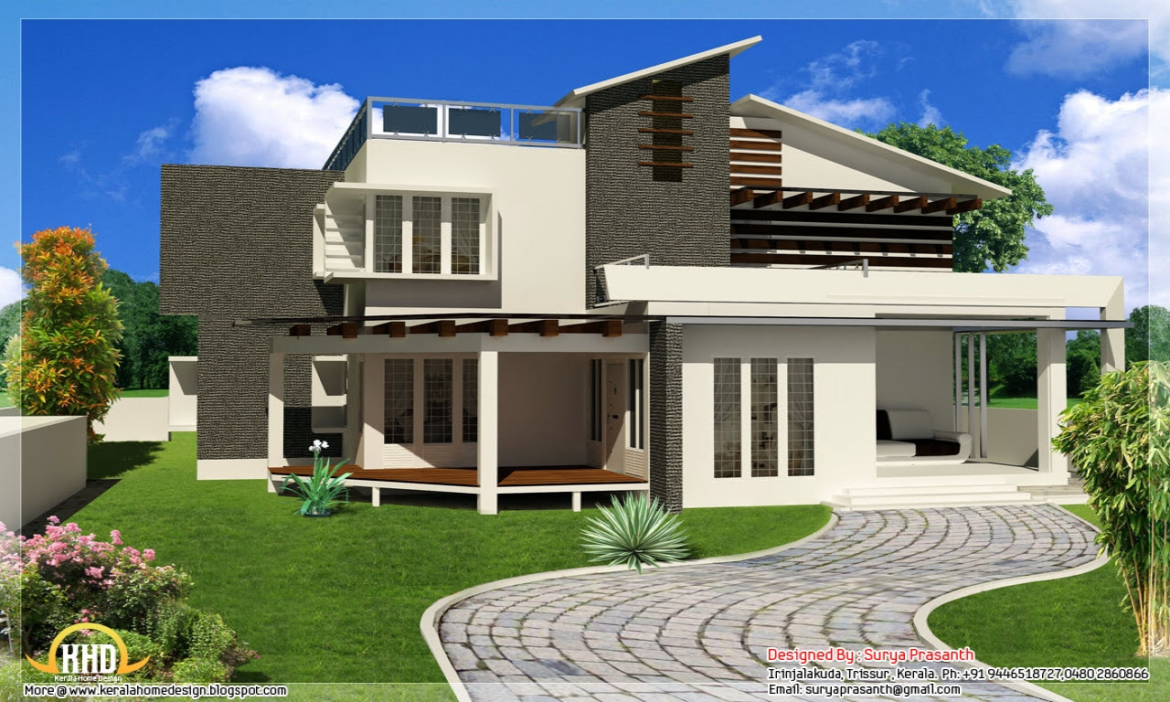 Top 10 Modern House Designs For 2013 | Narrow Home ...