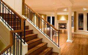 lebih luas mudah dibersihkan lantai kayu lamina corak kayu