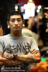 Tattooted men of Thailand