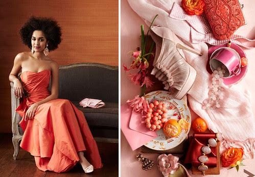 Color Me: Pink + Orange