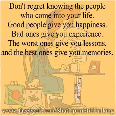 Dont Regret He People Who Come Into Your Life Pictures Photos And