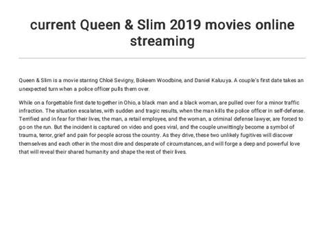 current queen slim  movies