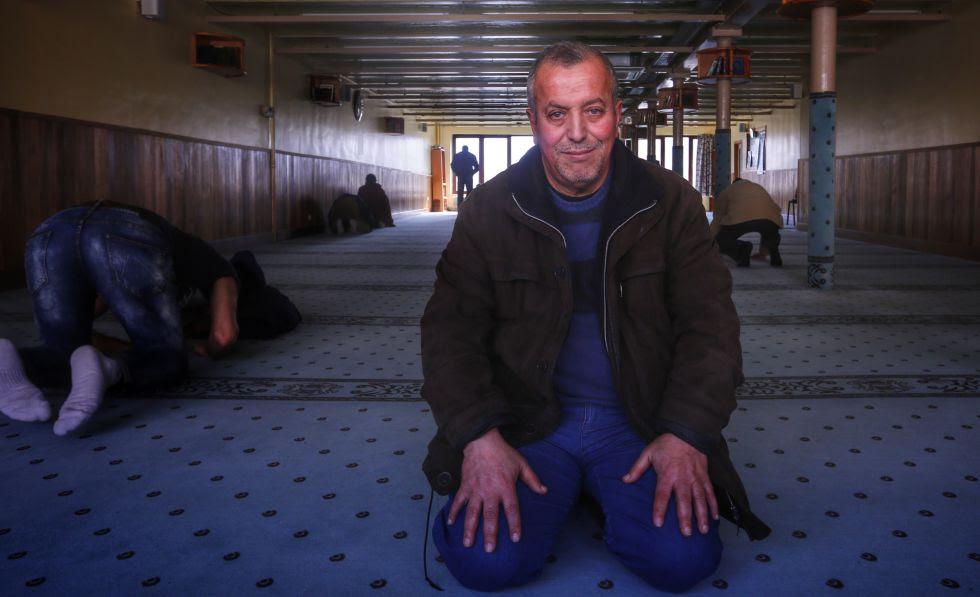 Hocine Benabderrahmane, imán de una mezquita de Bruselas