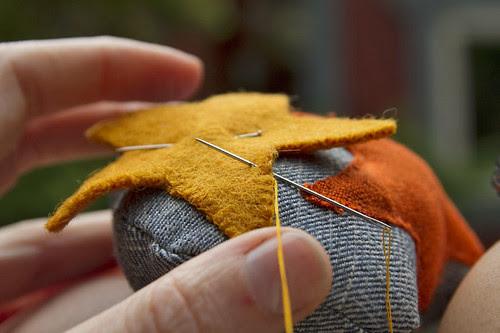 morning stitching