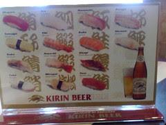 Types of Sushi 2