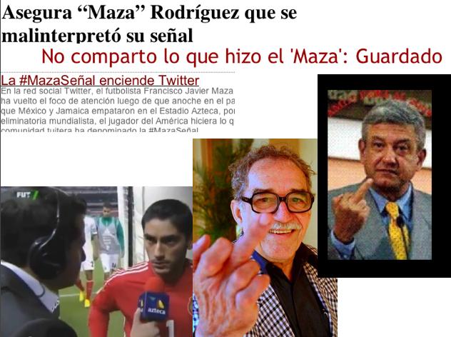 #MazaSeñal