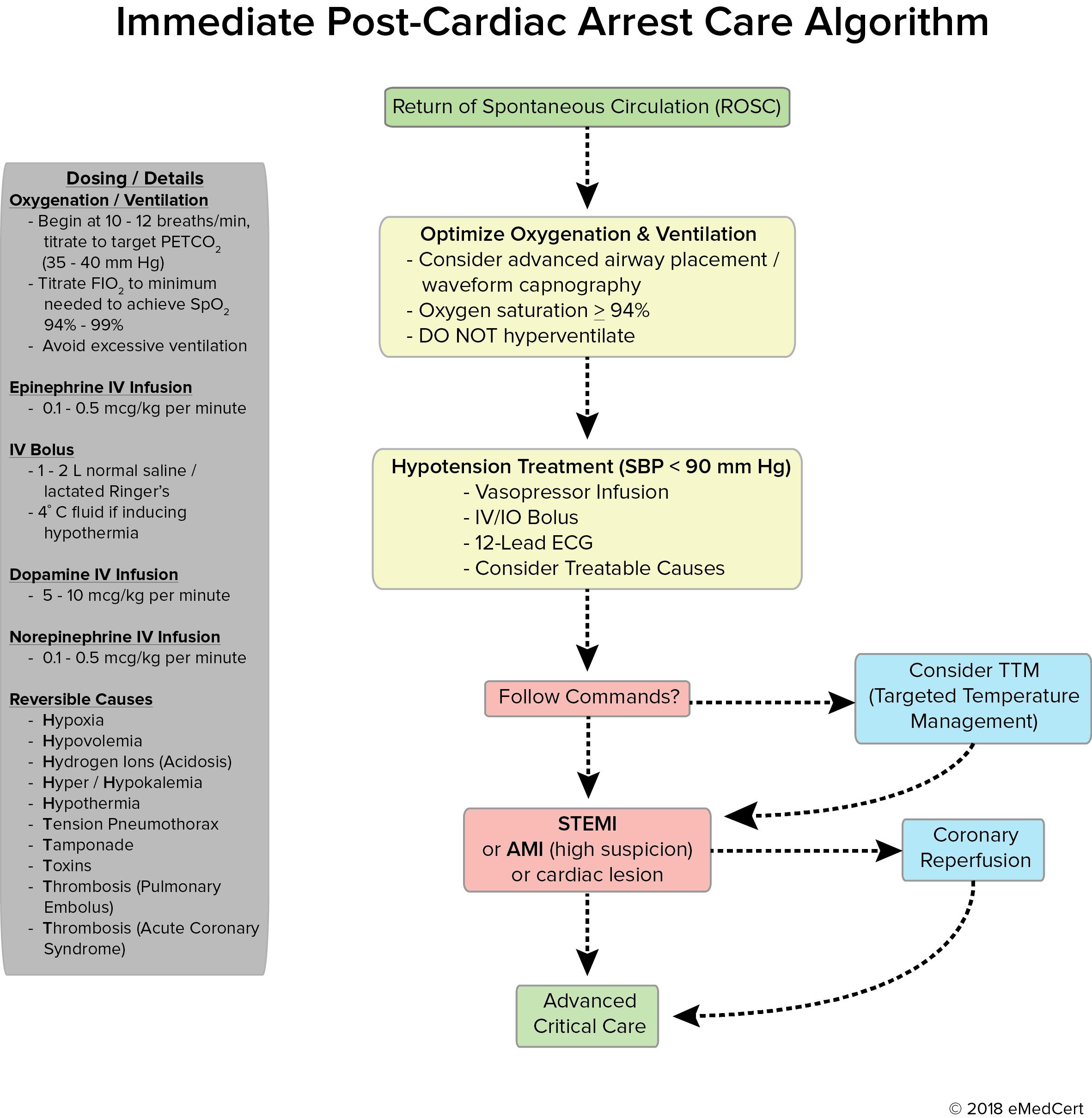 Acls Algorithms Captaincicerosco