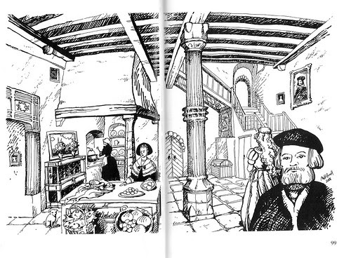 Tallinn interior,  illustration 2006