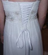 Do you have a wedding dress that is too small to zip up