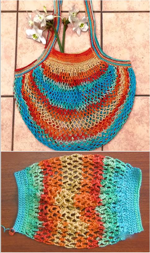 Crochet French Market Bag - Crochet Ideas