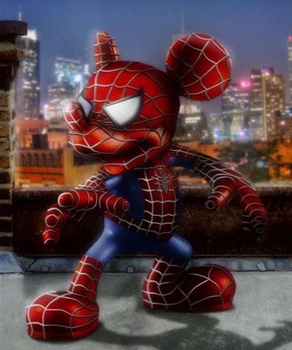 Marvel/Disney Hybrids 2 3