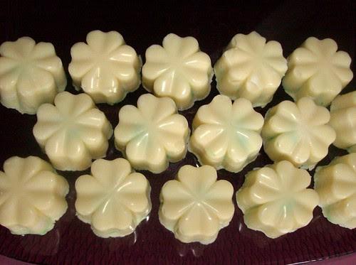 Quadrifogli bianchi al bergamotto