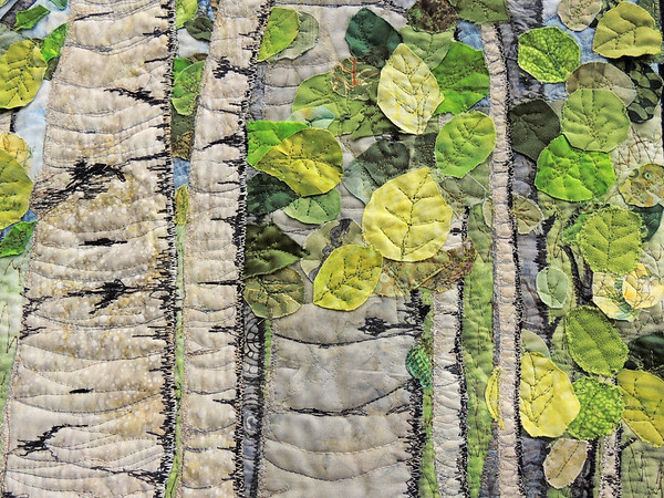 Detail of Aspen IV - Sunny Day by Dorothy Raymond