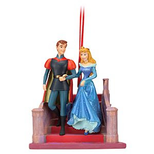 Sleeping Beauty Phillip and Aurora Sketchbook Ornament