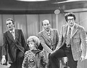 Il Quartetto Cetra negli anni 60. Il marito di Lucia Mannucci, Virgilio Savona, è il primo a destra