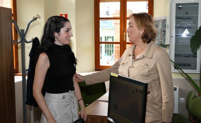 Calzadaplus la consejera de agricultura en calzada for Oficina comarcal agraria