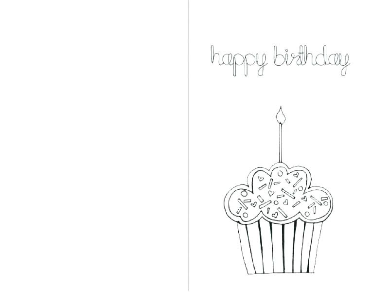 Valentine Card Design: Happy Birthday Daddy Cards Printable To Color