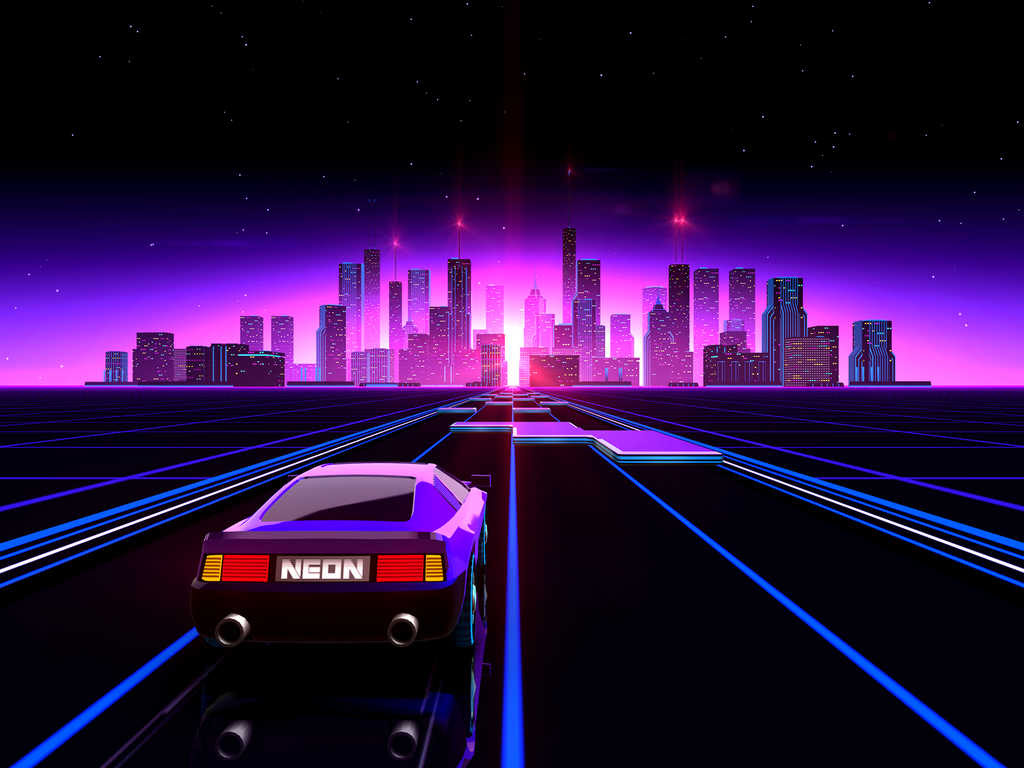 Turbowave to the Max: An ode to 80's inspired media screenshot