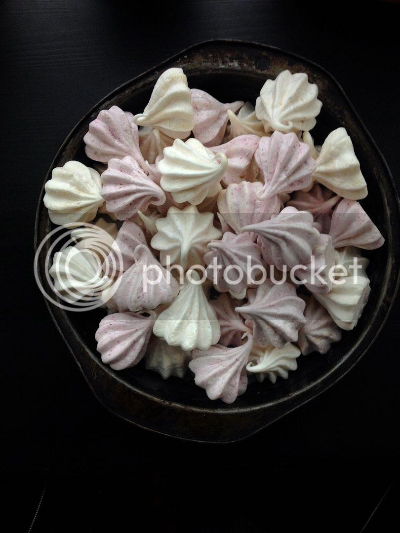 leaves and flours vegan meringue