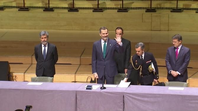 El rei Felip VI, aquest dilluns a L'Auditori de Barcelona