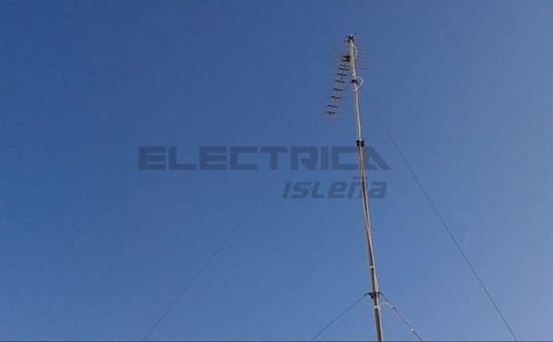 instalación antena tv antena vieja y oxidada blog
