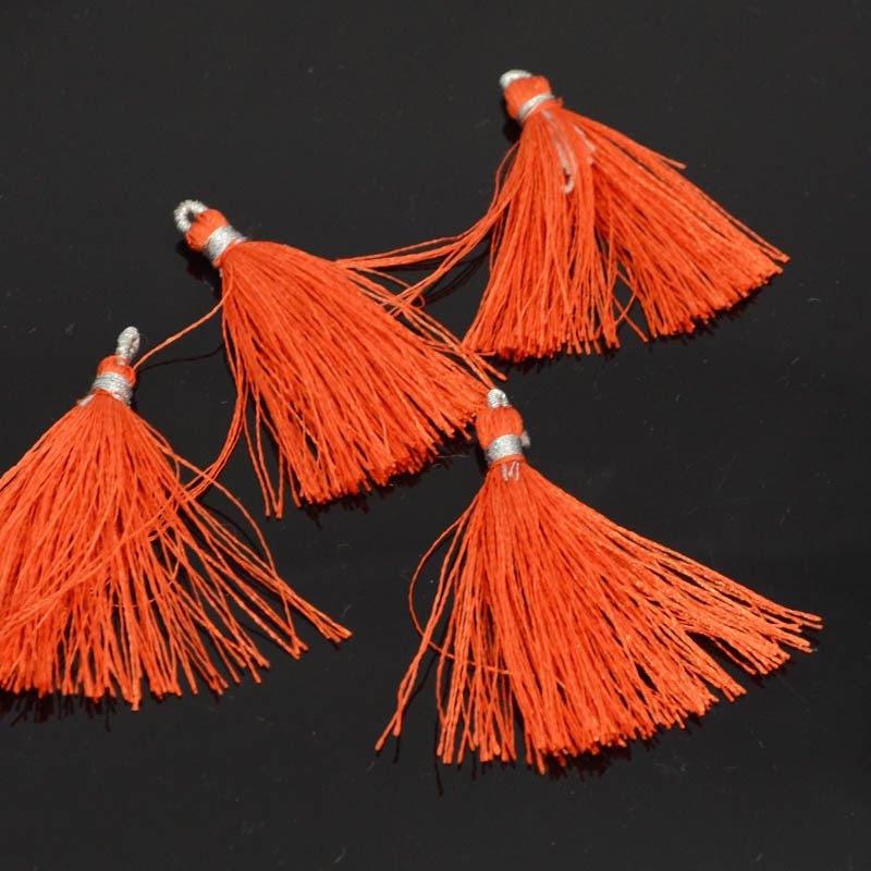 s39739 Components -  Tassels - Mandarin Orange (1)