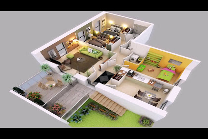 40+ Most Popular Simple 4 Bedroom 2 Storey House Plans 3d