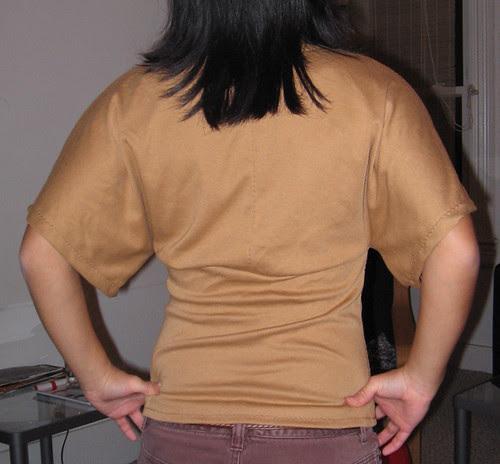Kimono top back