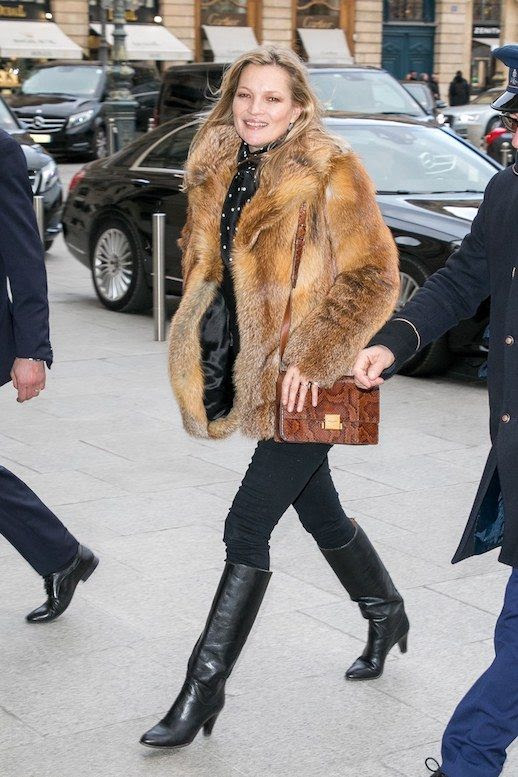 photo Le-Fashion-Blog-Kate-Moss-Street-Style-Off-Duty-Brown-Fur-Coat-Polka-Dotted-Pussybow-Blouse-Dark-Jeans-Black-To-The-Knee-Leather-Boots-Via-Vogue.jpg