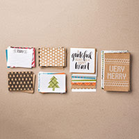 Seasonal Snapshot 2015 Project Life Card Collection by Stampin' Up!