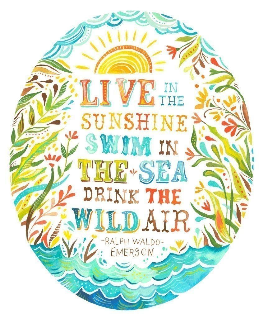Etsy print, Ralph Waldo Emerson quote