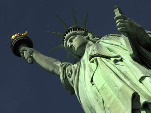 Statuia Libertăţii - New York (Imagine: Mediafax Foto/AFP)
