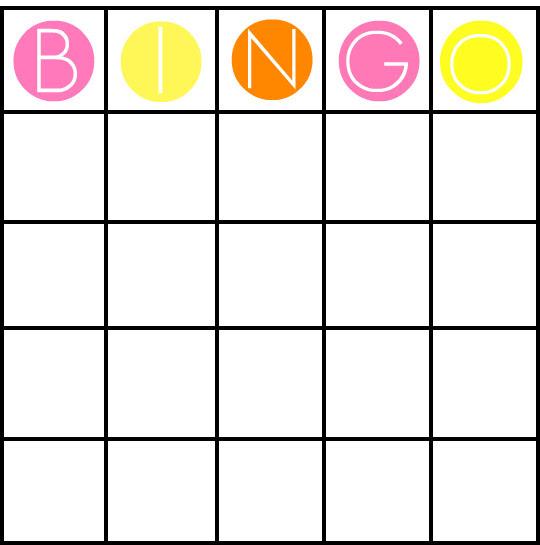 49 Printable Bingo Card Templates | Tip Junkie