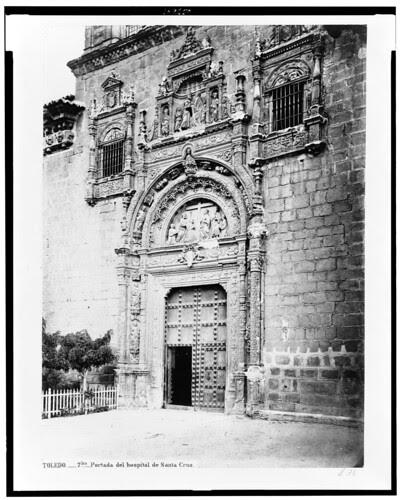 Museo de Santa Cruz en el siglo XIX. Fotografía de Jean Laurent. The Library of Congress of the United States of America