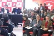 Diretório Nacional do PT se reuniu nesta segunda-feira, em São Paulo (Fotos: Luciana Santos/PT)
