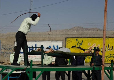 Flogging in Iran