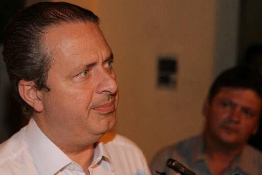 Campos já discursa como pré-candidato à Presidência. Foto: Roberto Ramos/DP/D.A Pres (Roberto Ramos/DP/D.A Press)