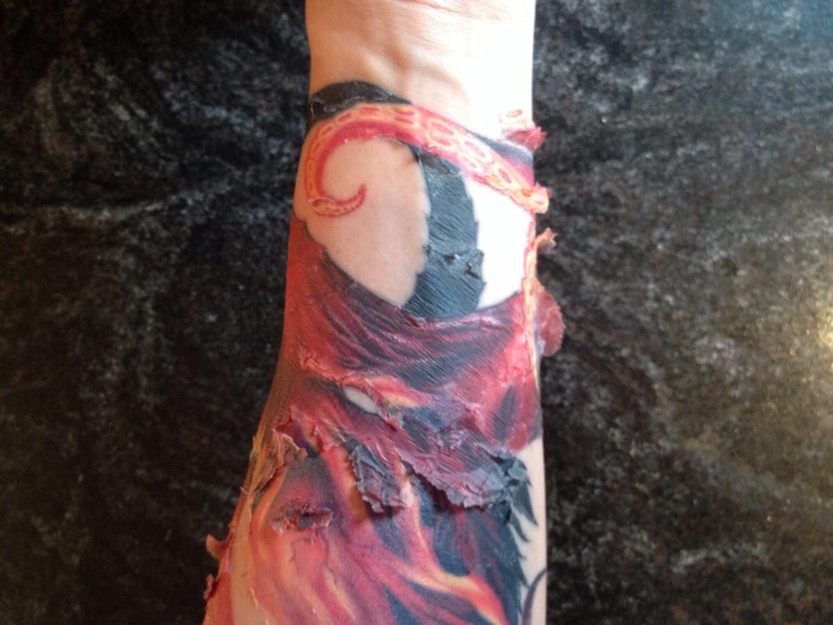 Update On My Tattoo From Yesterdaysept 10 2014 Peeling