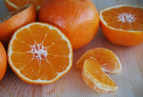 clementines cut