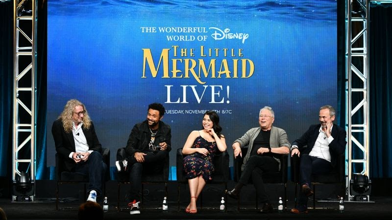 The Little Mermaid Live! Musical Event Set to Premiere on ...