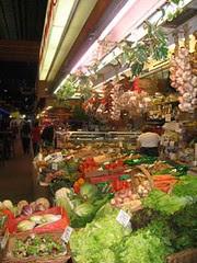 Légumes Halles Lyon