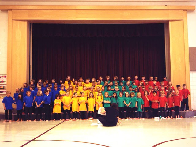 End-of-year performance from all the 1st graders